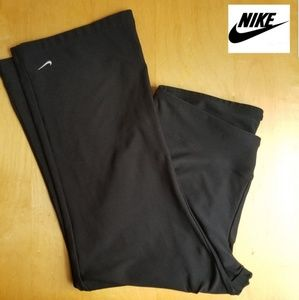 Nike Dri Fit Athletic Capris Medium Black